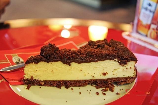Cheesecake z kakaových věnečků