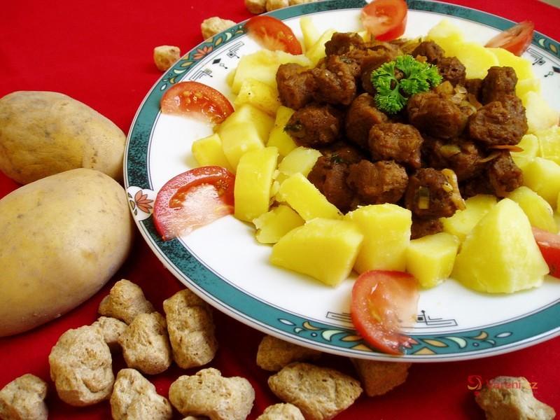 Čína ze sójového masa