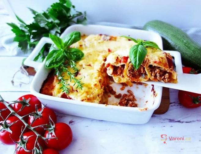 Cannelloni s mletým masem