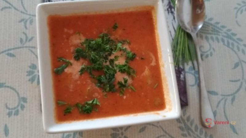Tradiční španělské gazpacho