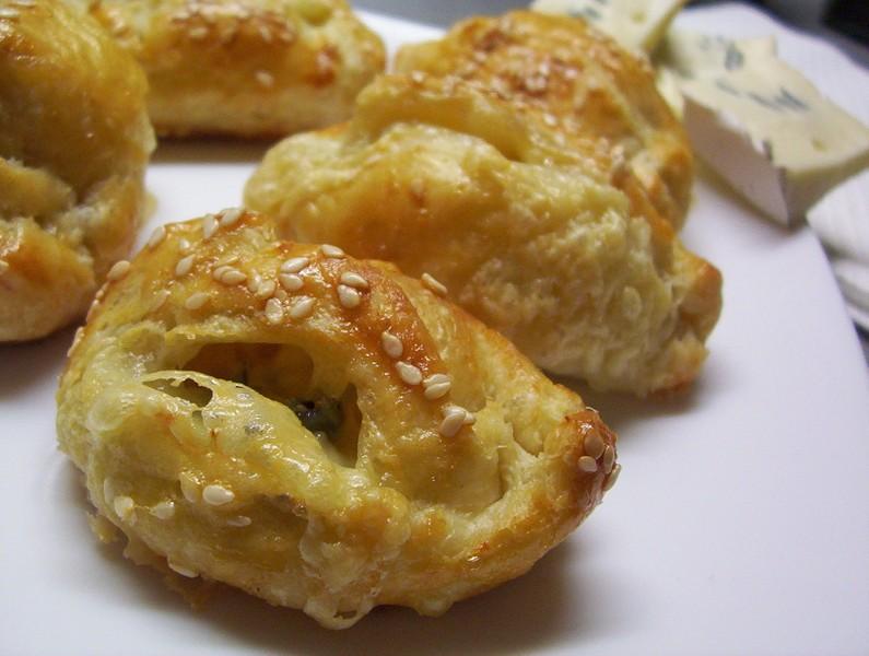 Křehké listové se sýrem