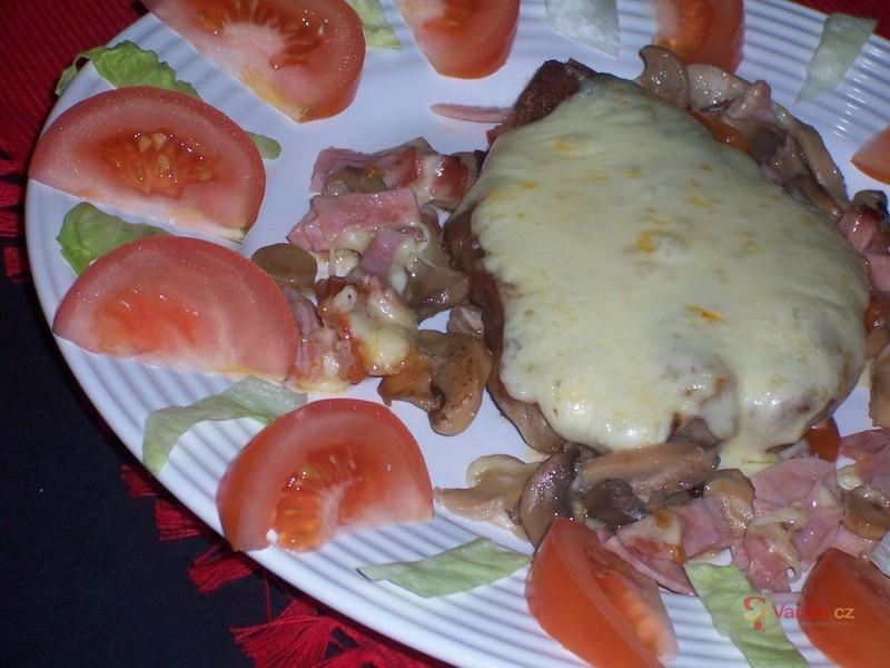 Vepřové steaky Riviéra