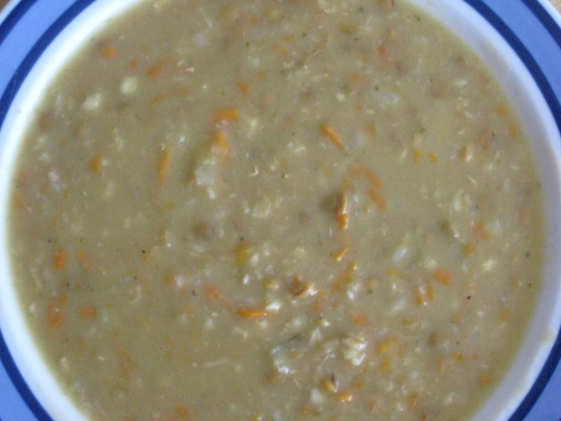 Čočková nebo fazolová polévka