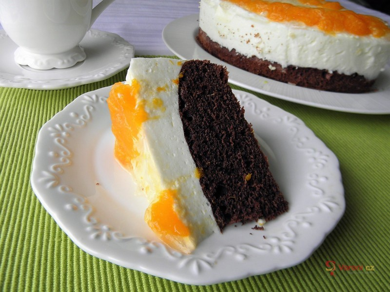 Jogurtový dort s mandarinkami