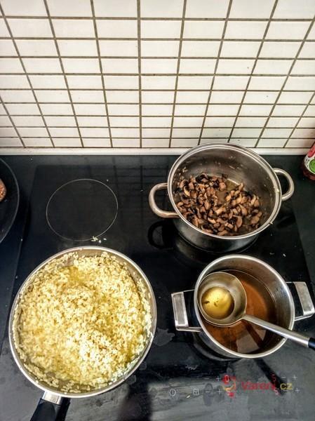 Italské risotto ai funghi podle Sisi