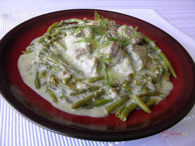 Vepřové maso s fazolkami
