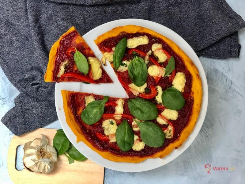 Batátová pizza
