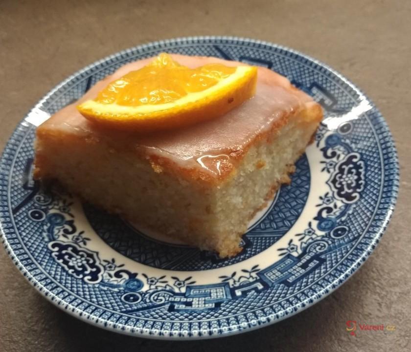 Dýňová buchta s pomerančem a citronovou polevou
