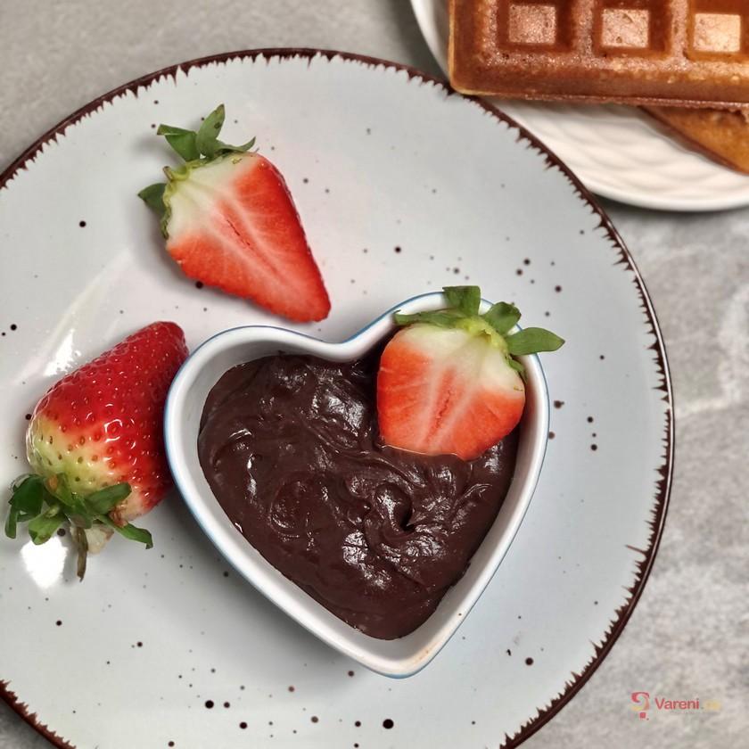 Čokoládový krém z avokáda