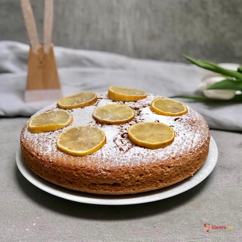 Veganský citronový koláč