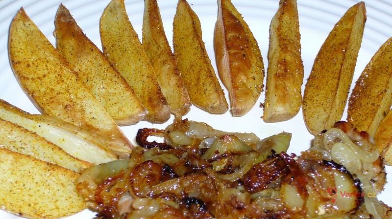 Grilované brambory