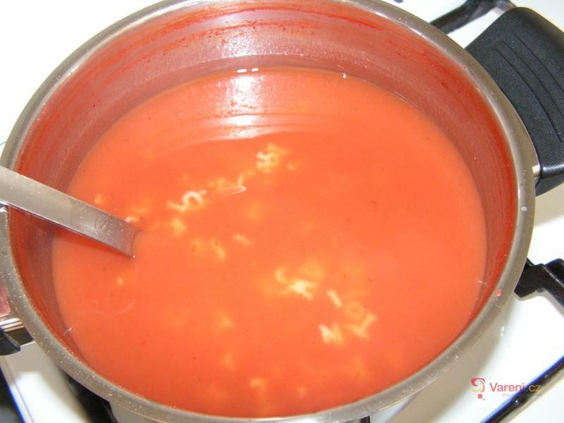 Rajská polévka po italsku