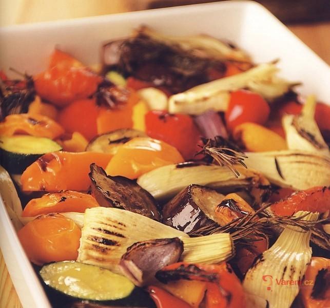 Pečená letní zelenina
