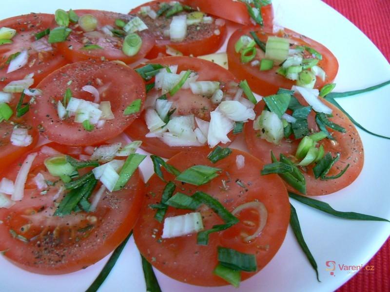 Provensálský rajčatový salát