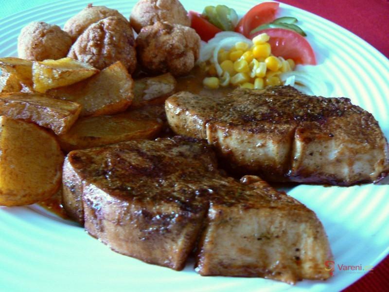 Krůtí steaky