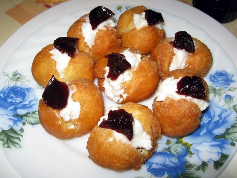 Vanilkové koblihy