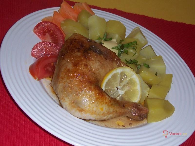 Citronové kuře
