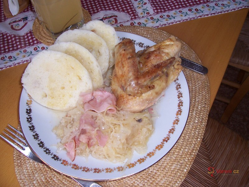 Kuře alá kachna