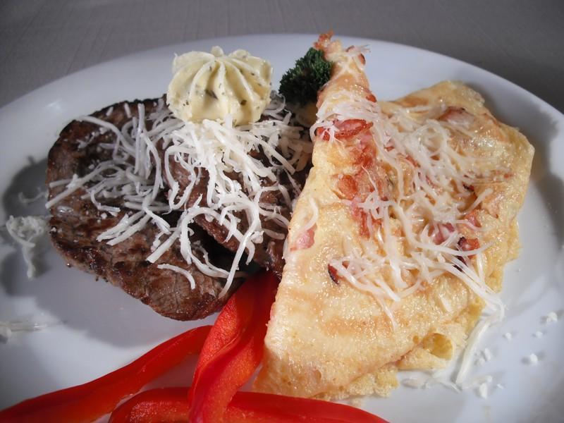 Marinovaný hovězí steak