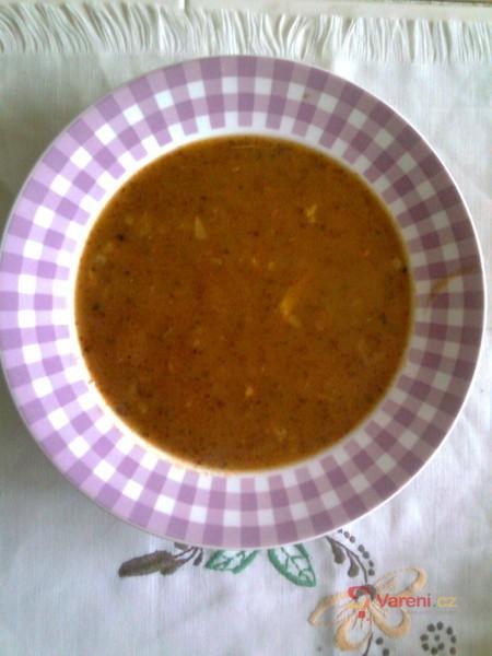 Slepičí dršťková polévka