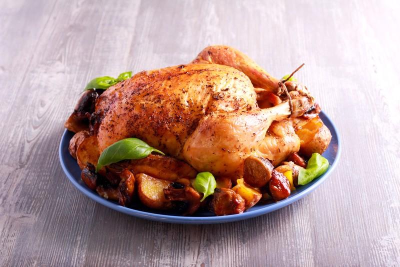 Houbové kuře
