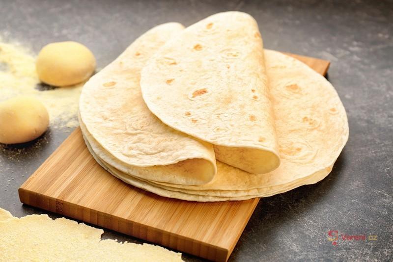 Mexická placka - tortilla