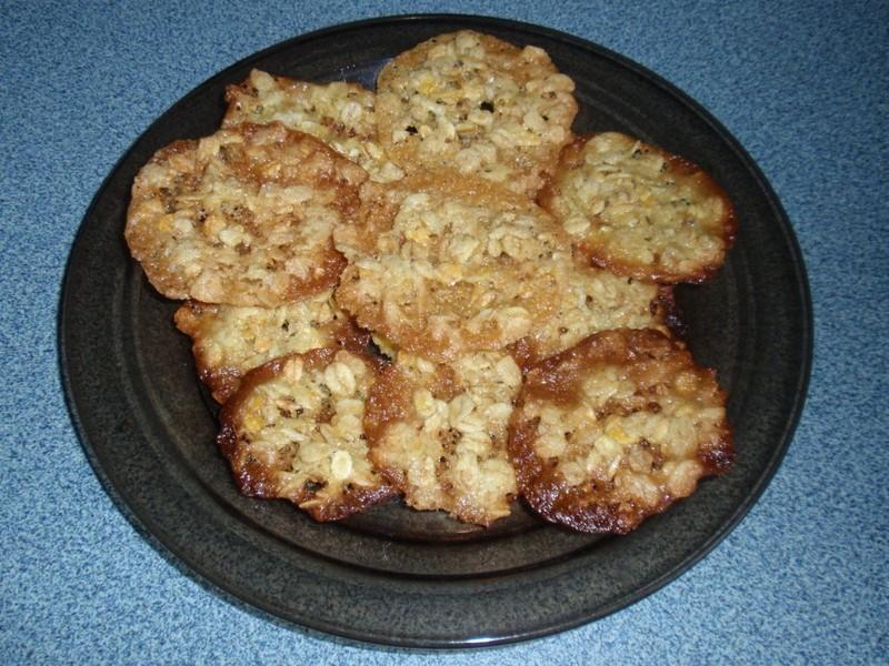Kaurahentuset - ovesné sušenky