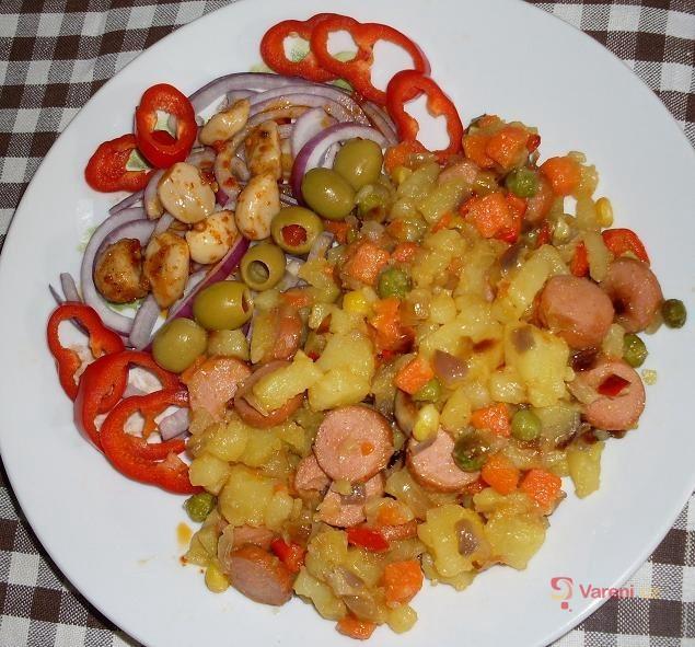Pikantní bramborový salát