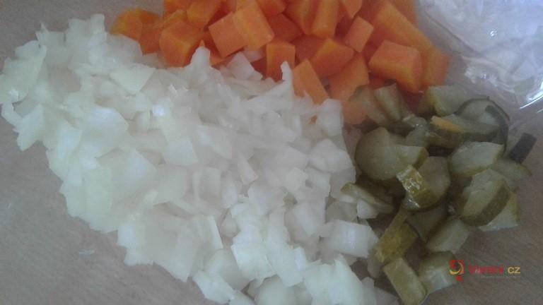 Výborný tresčí salát