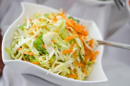 Salát z tykve a zelí