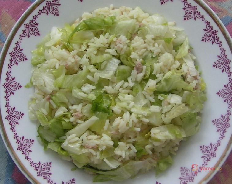 Rýže s tuňákem