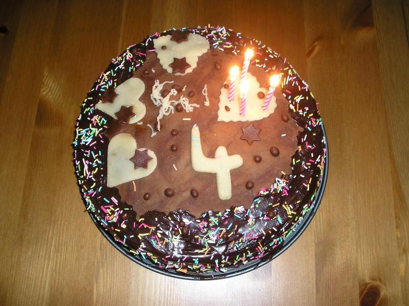 Super čokoládový dort