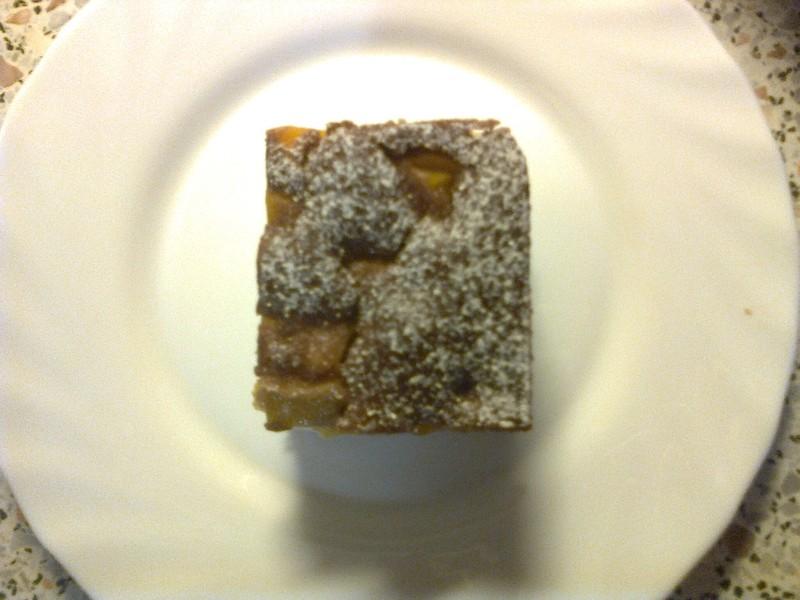 Rychlý hrnkový koláč s tvarohem