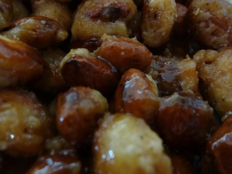 Skořicovo-karamelové mandle