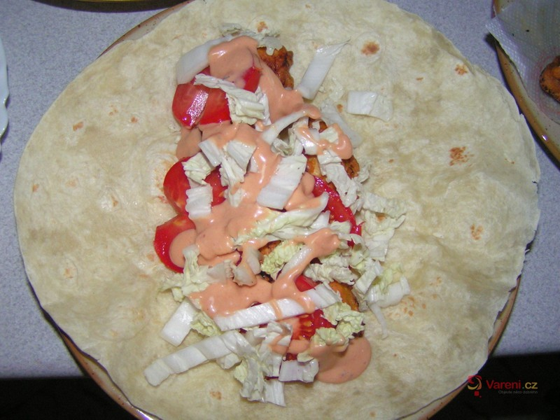 Tortilla s náplní