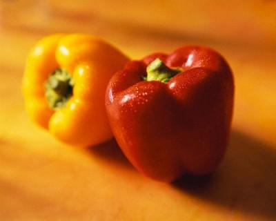 Papriky plněné strouhankou