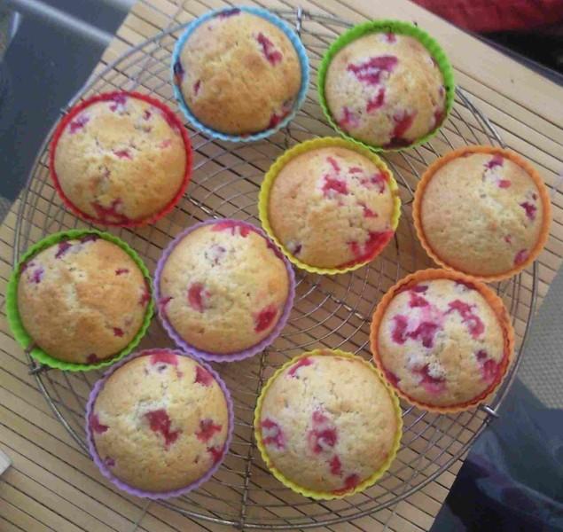 Hrníčkové borůvkové muffiny