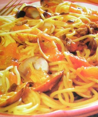 Špagety s korsickou omáčkou