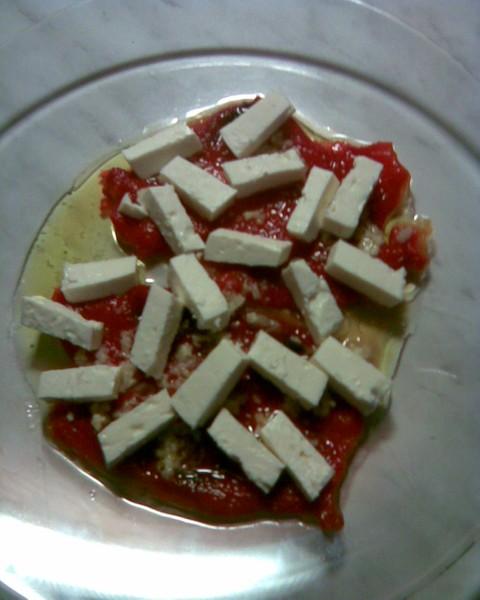 Pečené papriky se sýrem