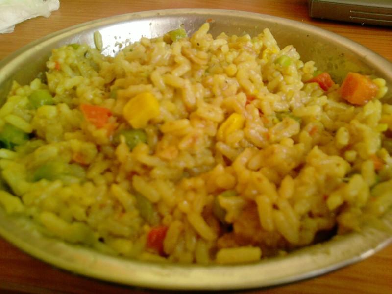 Levné sójové rizoto