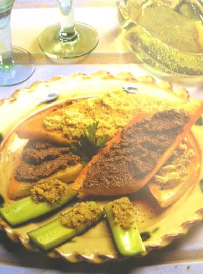 Tapenade ze zelených oliv