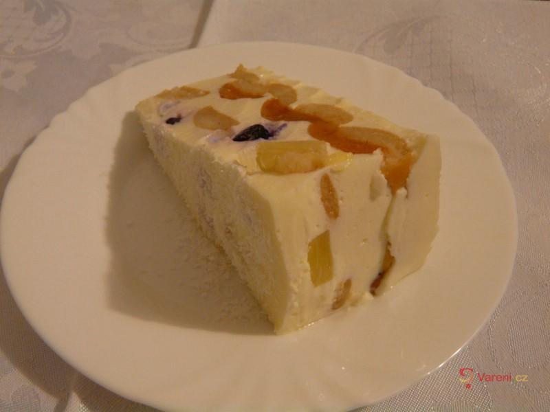 Tvarohový dort se želatinou