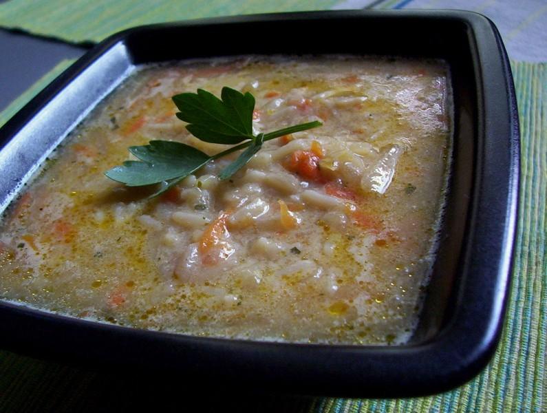Mrkvová polévka s kedlubnami