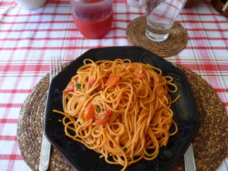 Špagety Arrabbiata