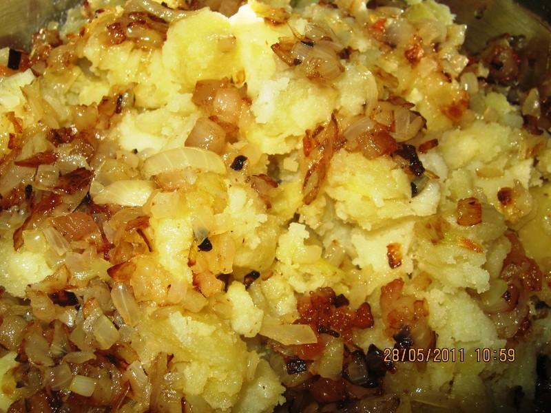 Šťouchané brambory po moravsku