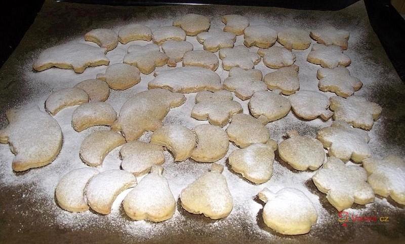 Vanilkové rohlíčky s mandlemi