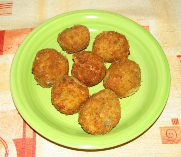 Cuketovo-sýrové kuličky