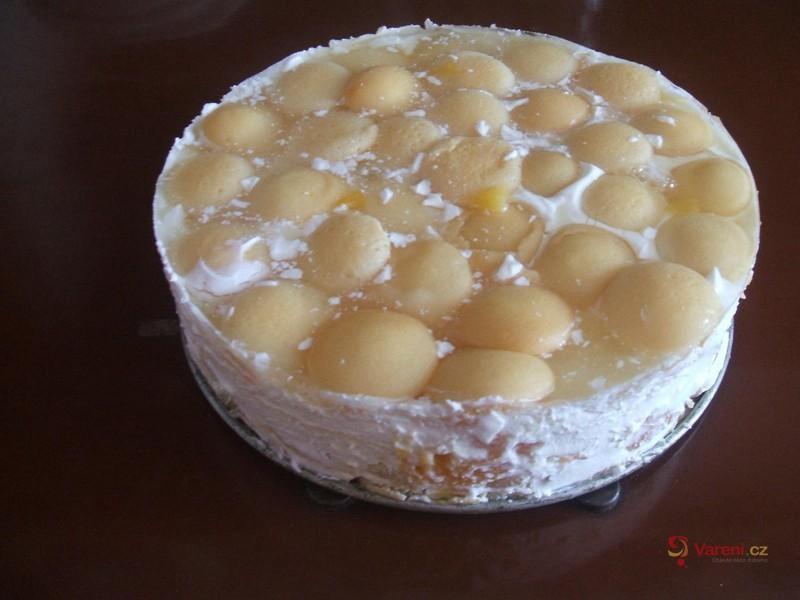 Nepečený dort ze smetany