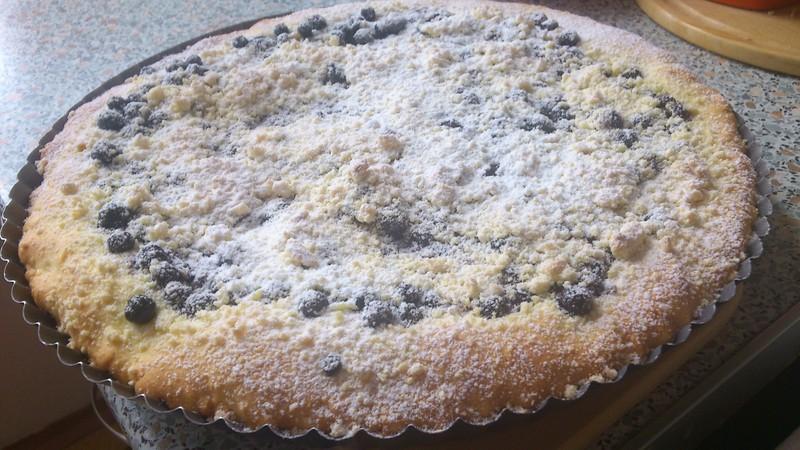 Babičky borůvkový koláč