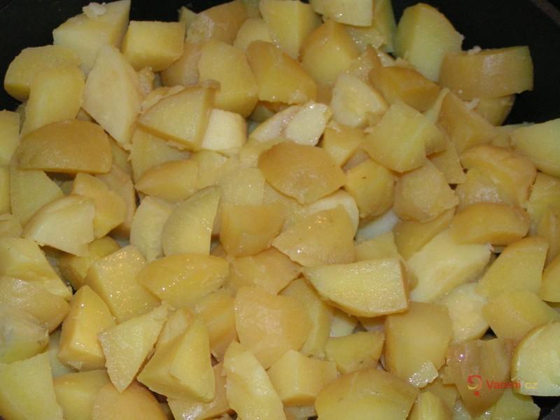Bylinkové opečené brambory